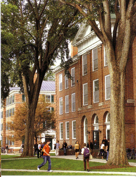 Emily's building at Dartmouth College