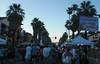 Thursday night in Palm Springs--street fair/farmers market