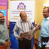 CTCC's Press Meet with Abdul Hameed for Trade Show Promotion, June 16, 2014, Toronto.