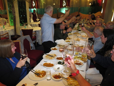 Jaipur - Iain Hay toasts our absent friends, 2016.