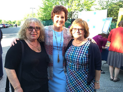 From left, CTI CEO Karen Frederick of Dracut, and Eleni Zohdi and Monica Kanellas, both of Lowell