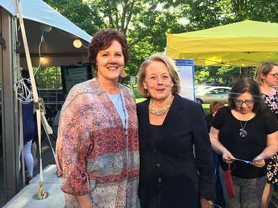 CTI CEO Karen Frederick of Dracut with the honoree, U.S. Rep. Niki Tsongas of Lowell