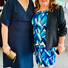 CTI CEO Karen Frederick of Dracut with Kathleen Plath of Lowell, owner of Cobblestones and Moonstones