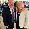 Ken Lavallee of Chelmsford and Pam Huntley of Hampton, N.H.