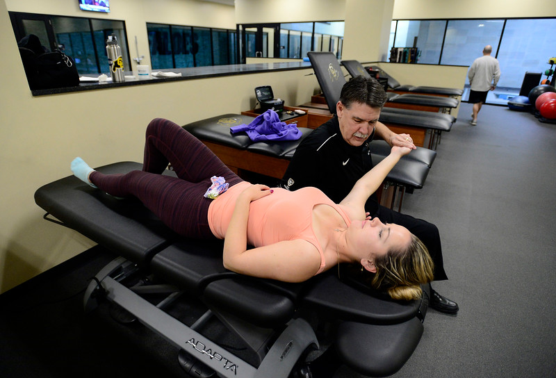 CU Athletes Rehabbing Injuries