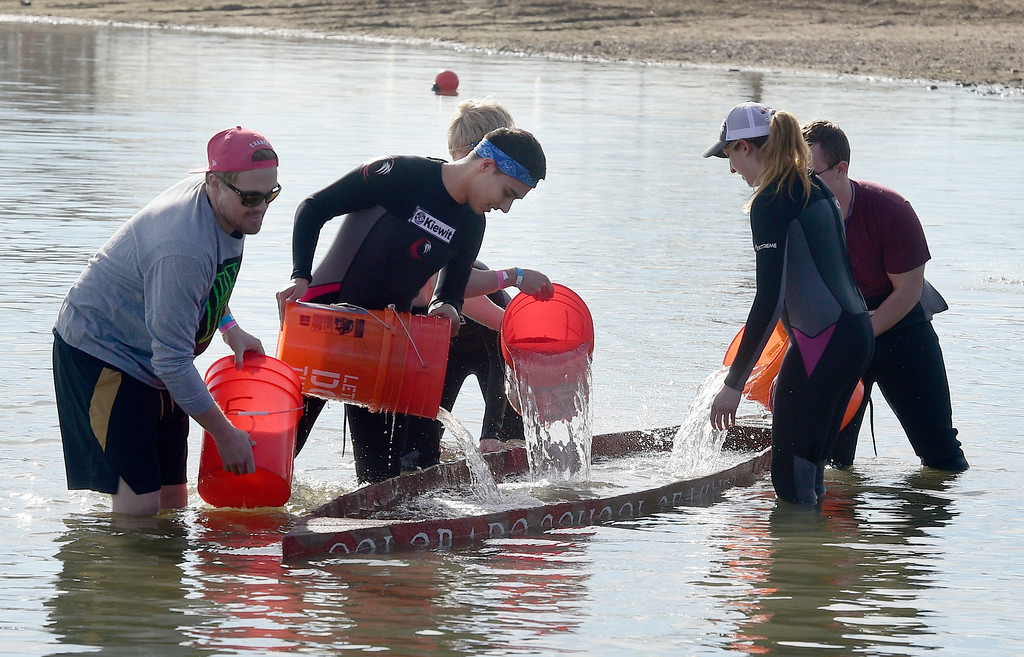 CU Engineering Students Host Conference, Concrete Canoe Races
