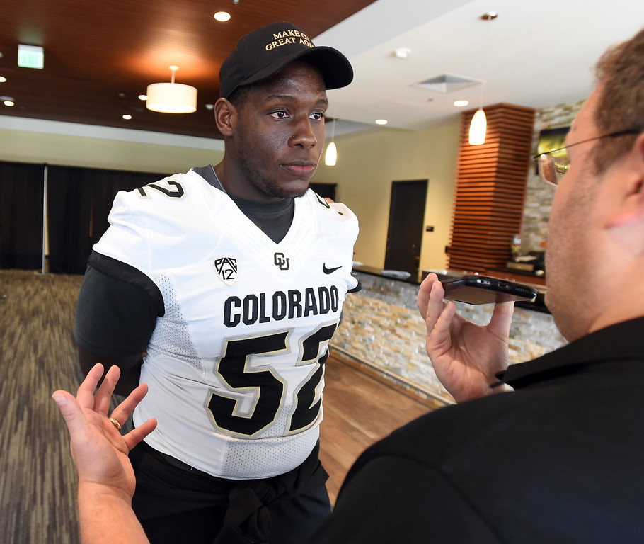 CU Football Media Day