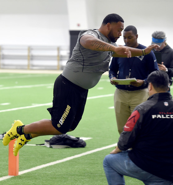 CU Football Pro Timing Day 2017
