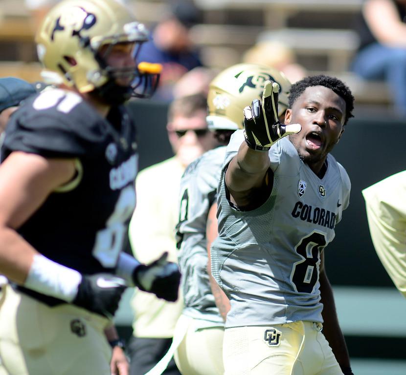 University of Colorado Football Spring Game