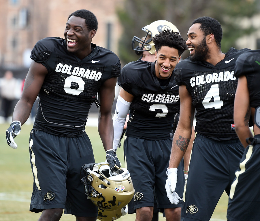 Colorado Football Spring March 3