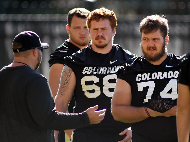CU Buffs Football Practice on August 27, 2016