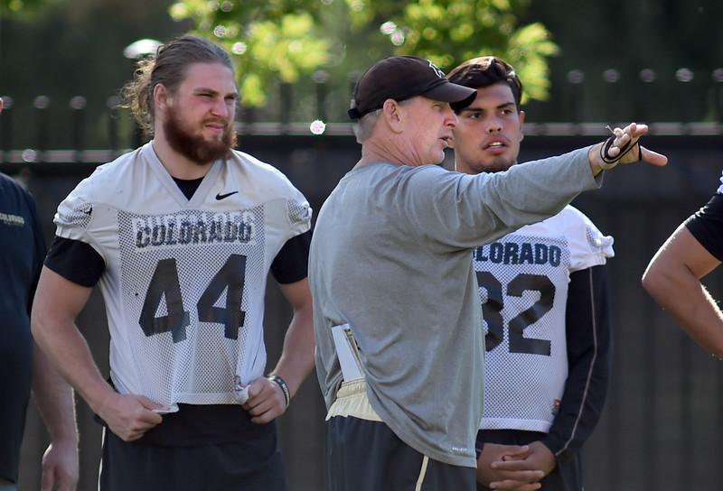 CU Buffs Football Practice on August 27, 2016