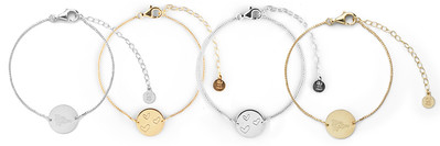 Ellas coin brace gold and silver
