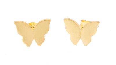 Butterfly ear gold