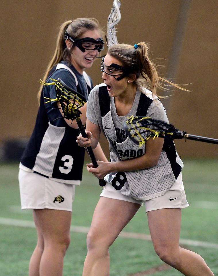 Colorado Lacrosse Practice Jan 26