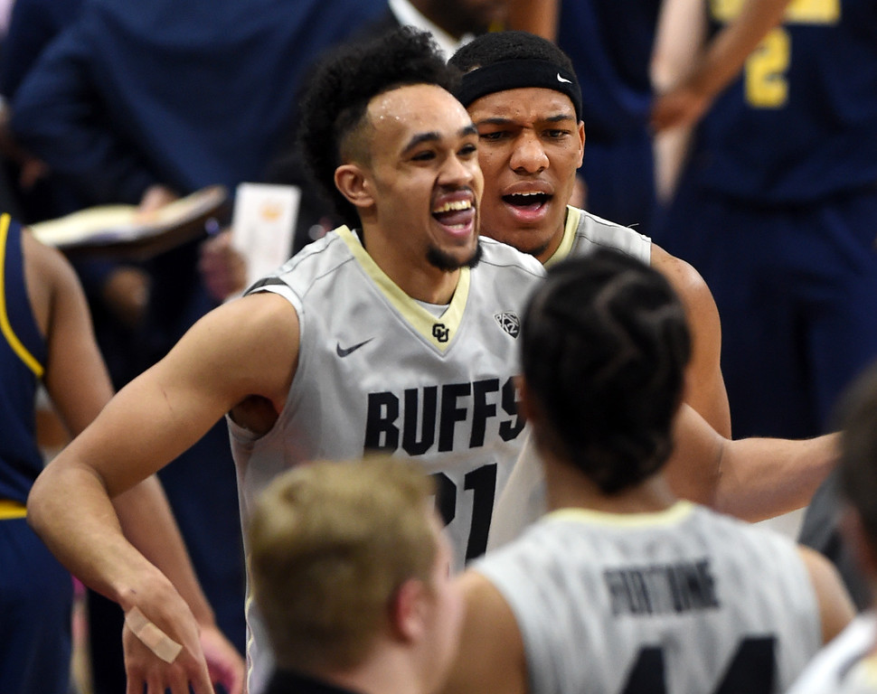 Colorado California NCAA Men's Basketball