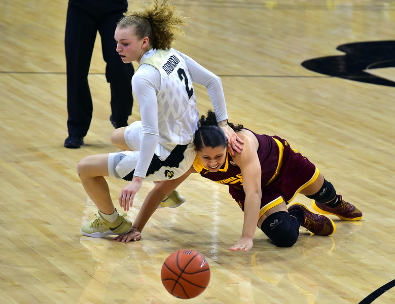 CU WOMEN BASKETBALL VS ARIZONA STATE