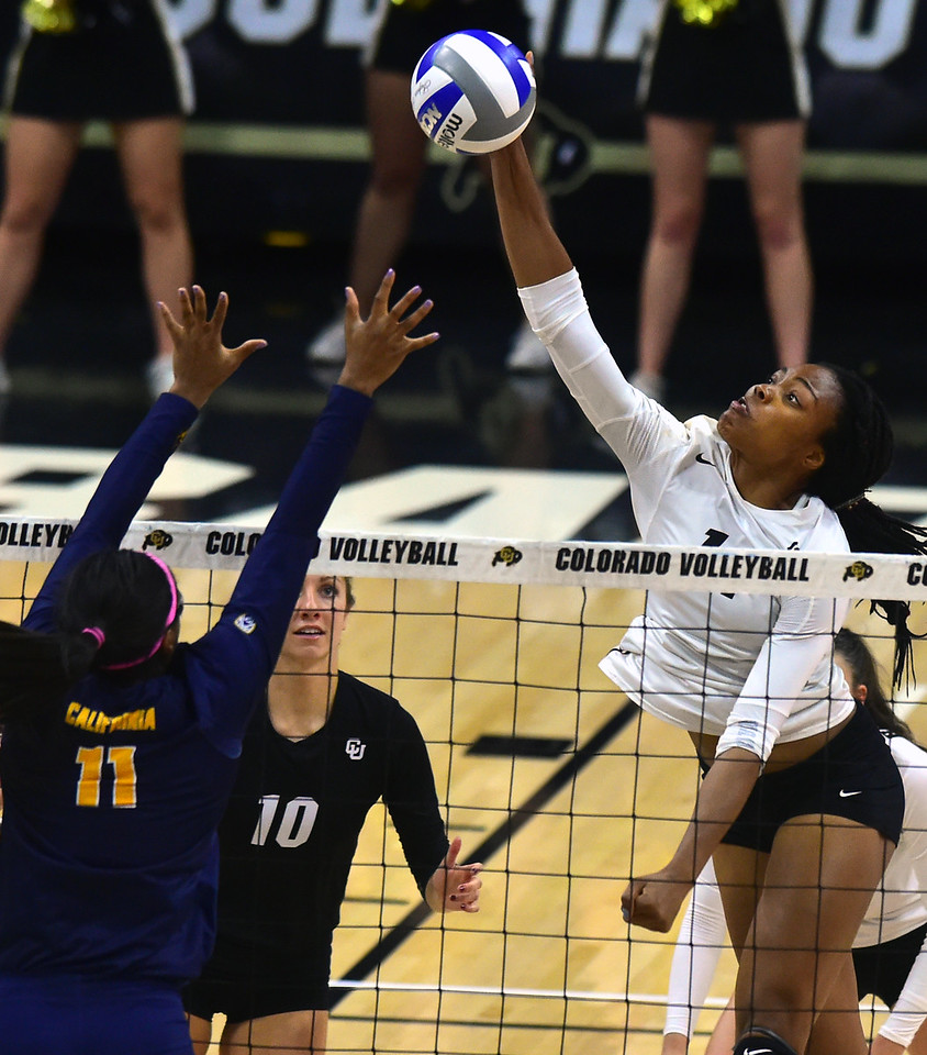 CU VOLLEYBALL VS CAL 2016