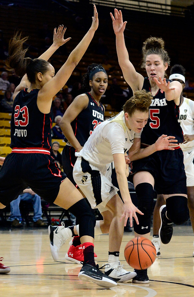 CU VS UTAH WOMEN'S BASKETBALL