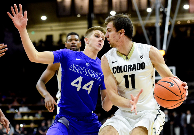 Colorado Air Force Basketball