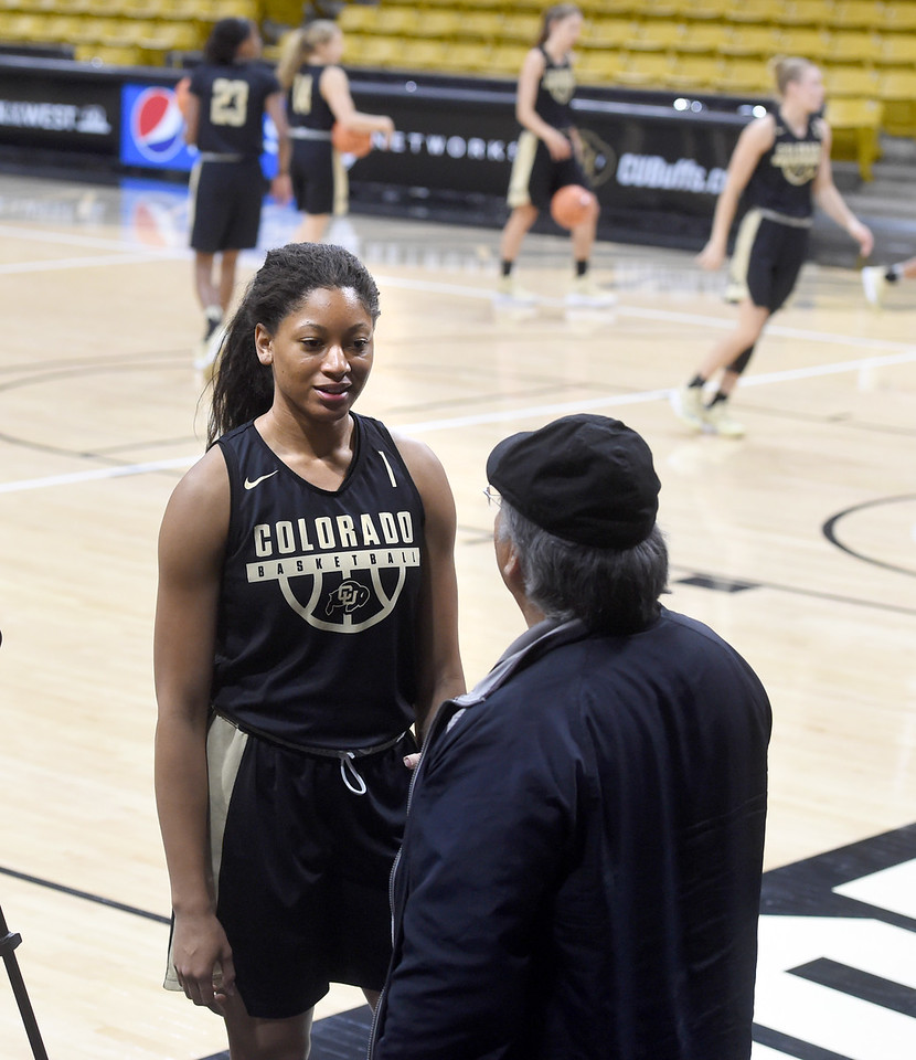 CU WBB Media Day