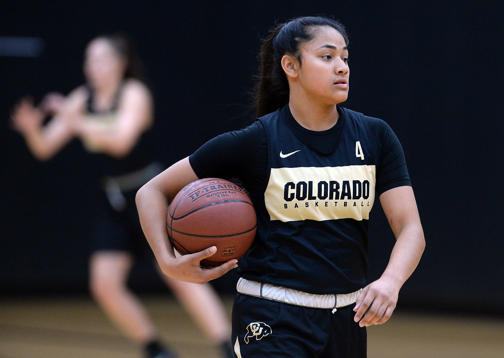 . BOULDER, CO: October 5, 2018:  Lisela Funau during practice on October 5, 2018. (Photo by Cliff Grassmick/Staff Photographer)