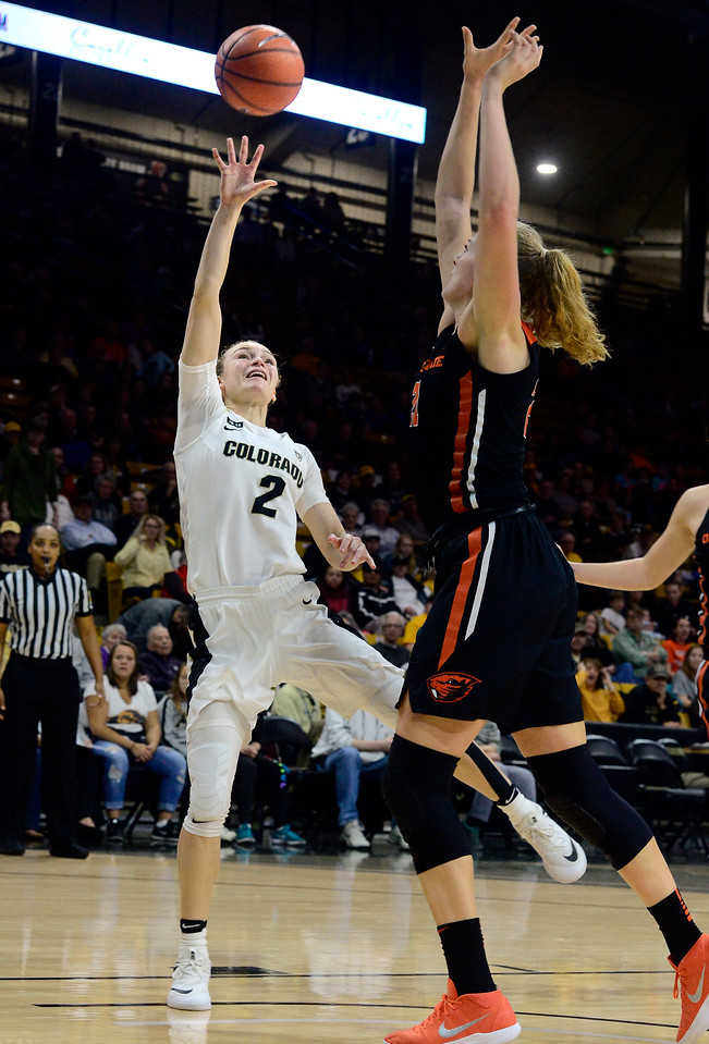 CU WOMEN VS OREGON STATE BASKETBALL