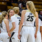 NCAA PAC12 Women's Basketball game between the University of Colorado Buffaloes (CU) and the University of Arizona Wildcats (AZ) at the Coors Event Center on the University of Colorado campus in Boulder, Colorado on December 31, 2017.  Final score of the game was the CU Buffaloes - 79 and the Arizona Wildcats  - 60  .