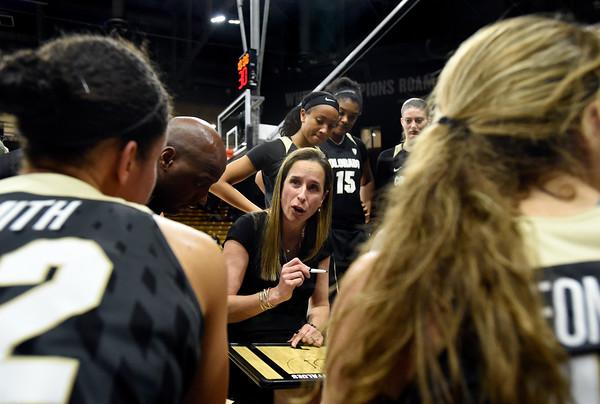 CU vs CSU Women's Hoops