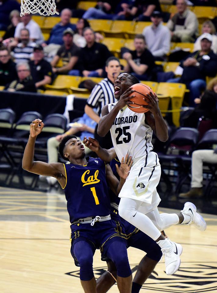 CU vs Cal Mens Hoops