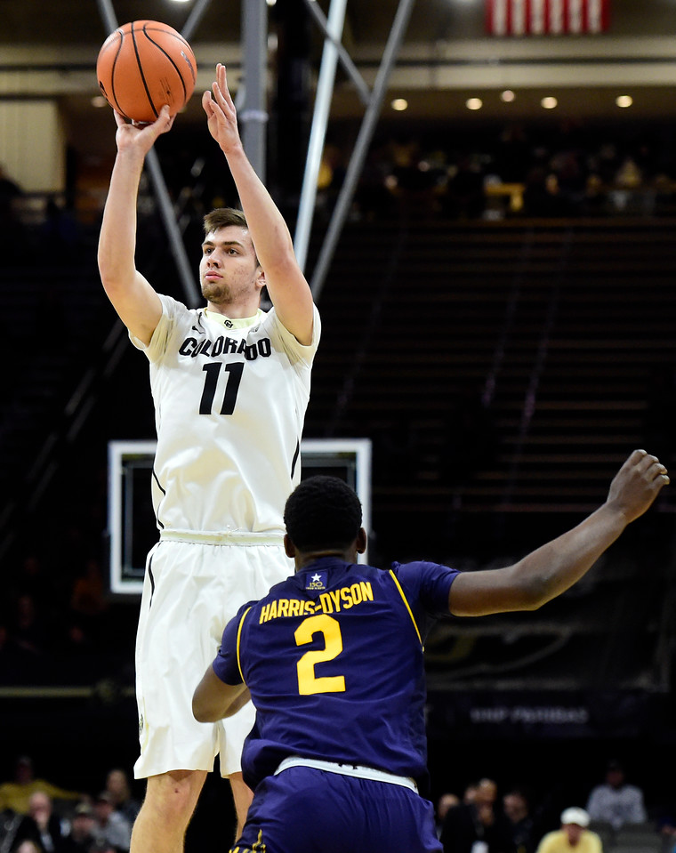 CU vs Cal Mens Hoops
