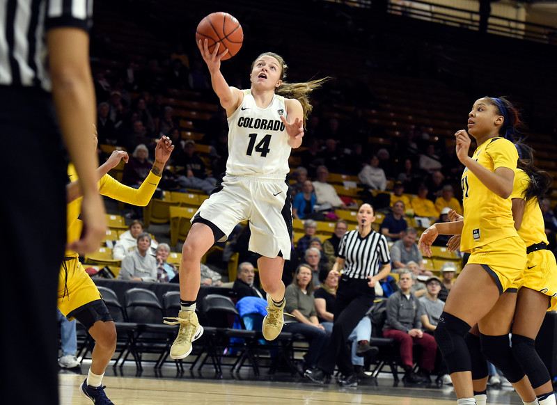 CU vs Cal Women's Hoops
