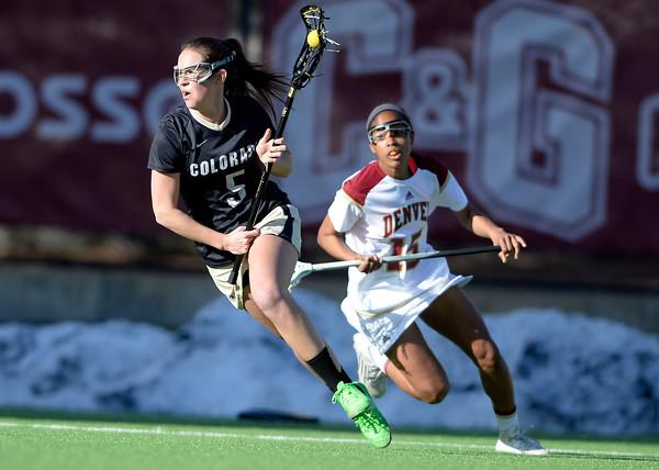 CU vs DU Lacrosse