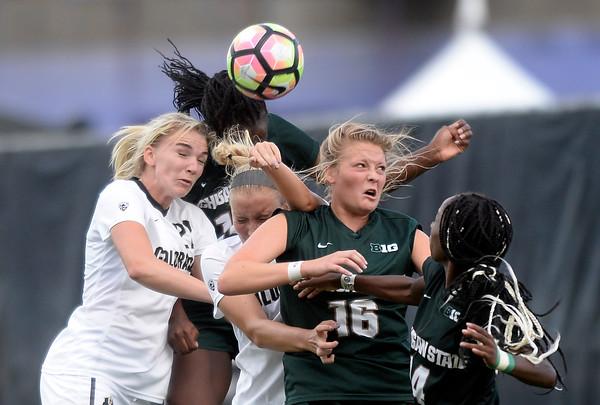 CU vs Michigan State Soccer