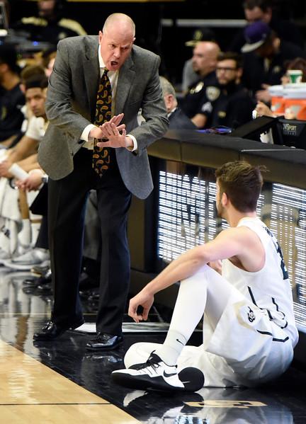 CU vs Utah Men's Hoops