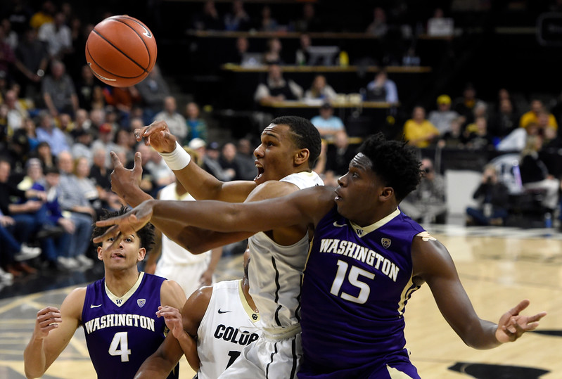 CU vs Washington Mens Hoops