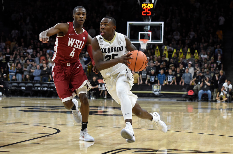 CU vs Washington State Mens Hoops