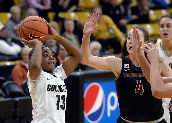 CU vs Washington State Women Bball