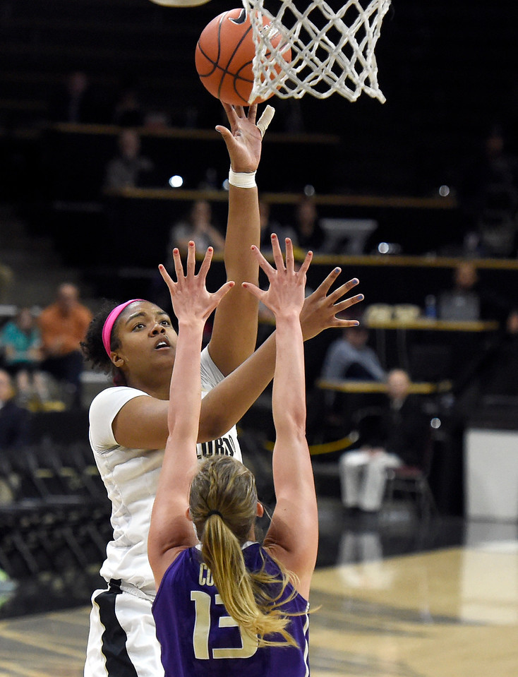 CU vs Washington Women Hoops
