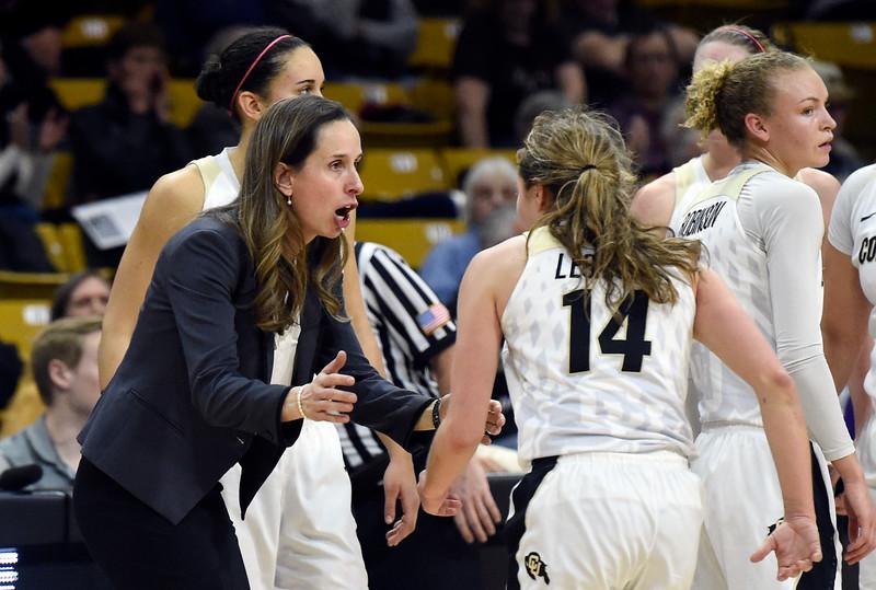 CU vs Washington Women Hoops