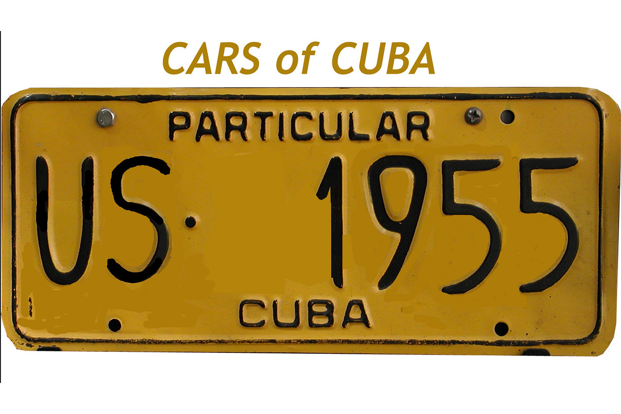 "•••  Carros de Cuba - Cars of Cuba - <a href=""http://www.cubanet.org/cubanews.html"">http://www.cubanet.org/cubanews.html</a><br /> The most typical license plate seen around Cuba. Images of Cars in Havana and throughout Cuba.<br /> <br /> See all of the Cuban License Plates here: <a href=""http://www.worldlicenseplates.com/world/CA_CUBA.html"">http://www.worldlicenseplates.com/world/CA_CUBA.html</a><br /> <br /> Buy a photo of your favorite cars.... A great gift !<br /> <br /> or get books from Amazon on the subject: <br />  <a href=""http://www.amazon.com"">http://www.amazon.com</a><br /> <br /> CARS OF CUBA !"