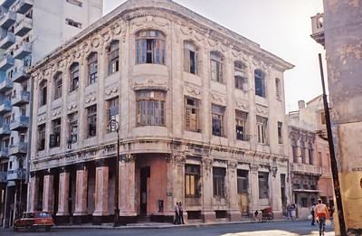 A Corner Building In Havana
