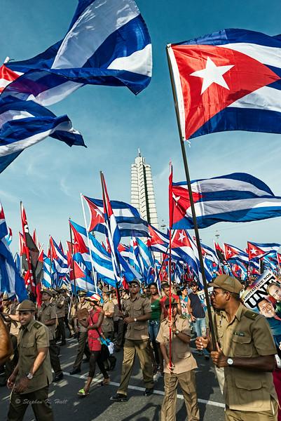 Plaza de la Revolucion -- May Day Parade