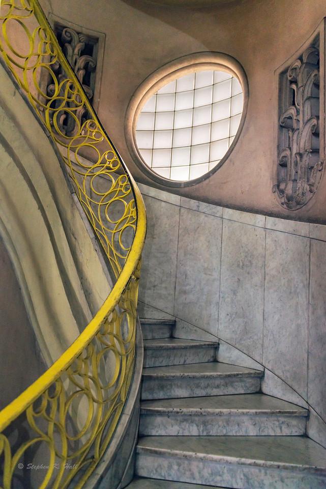 Stairwell, Art Nouveau