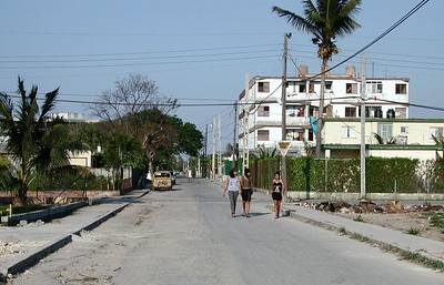 "- ""Typical Walk down a Cuban Street"""