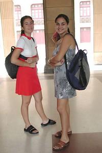 People of Cuba - Gente de Cuba   - College Students at  U of Havana