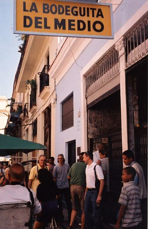 La Bodeguita del Medio - Havana, CUBA  This was one of Ernest Hemingway's places where he had drinks while writing novels.