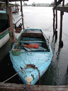 Cuban Boat - Santa Fe Harbor