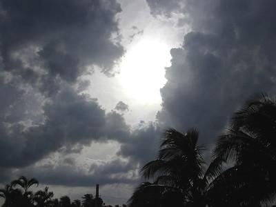 """Stormy Sunset Cuba"""