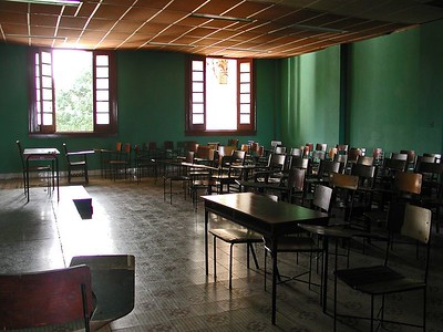 Law School Classroom - University of Havana - Before School   http://www.uh.cu/